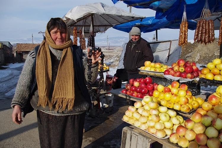 果物の販売