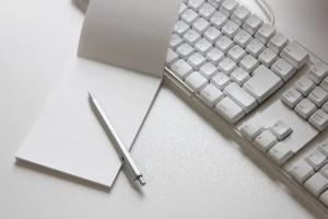 メモとキーボード